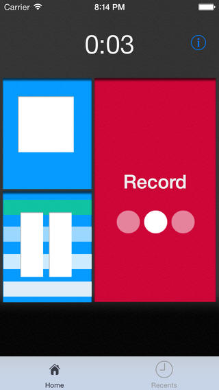 Record Pro iPhone App