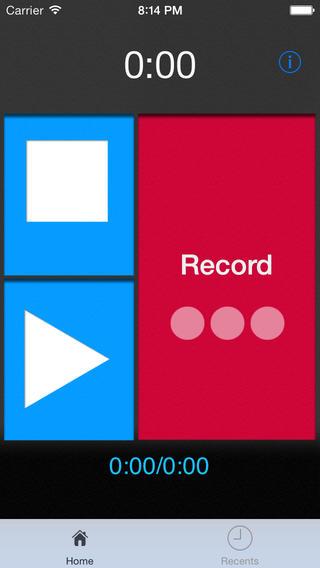 Voice Recognition App