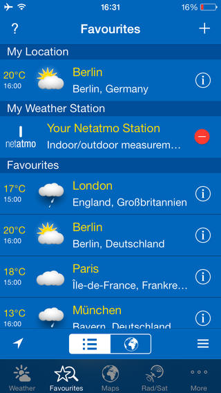 Weather Finder App