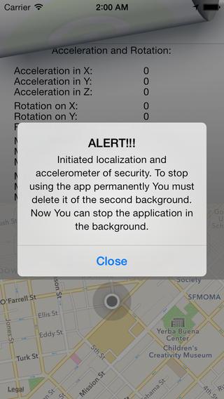 Safety Alert App