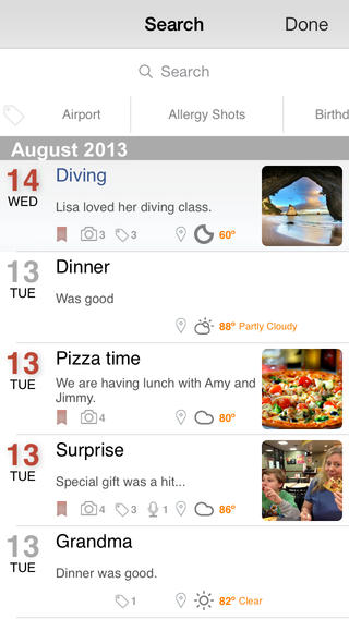 Dailybook App for iPhone