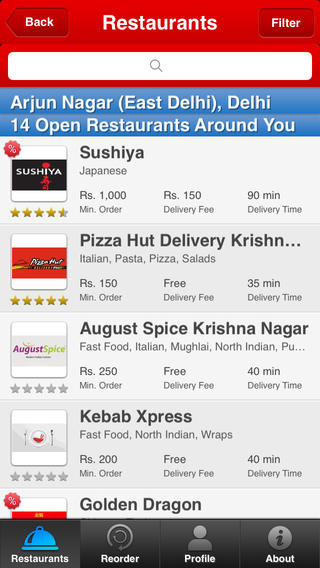 Foodpanda iPhone