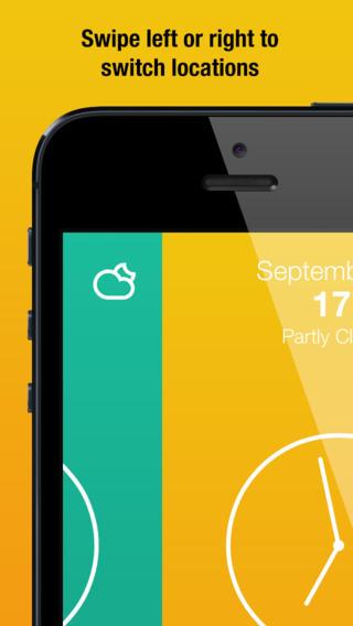 iPhone Weather App
