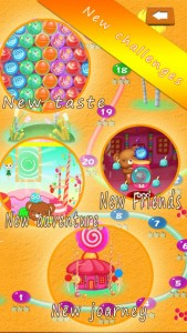 iPhone Candy Ball Shoot Game