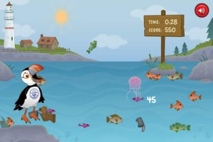 iPhone App Fishing Game Omega
