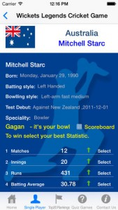 Play Wickets Cricket App