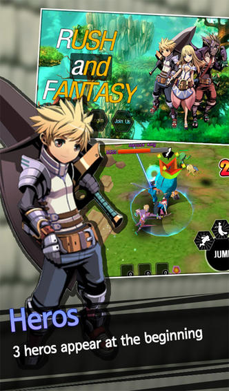 Fantasy MMORPG Adventure Games