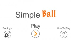Simple Ball - Puzzle game for iOS