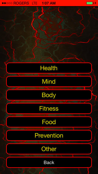 Healthy Living iPhone Apps