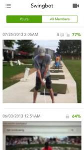 Golf Swing App iPhone