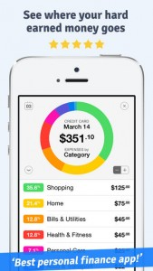 Personal Budget Tracking App iPhone