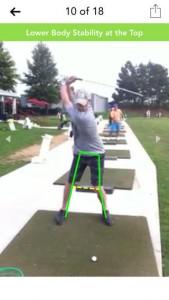 Golf Swing Coach Analysis App