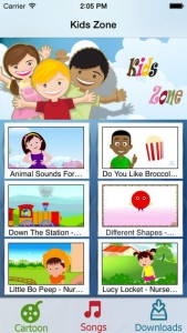 Kids Zone for iPhone
