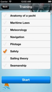 Sailing School iPhone App
