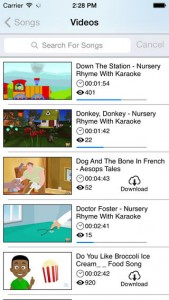 iPhone Kids Zone App