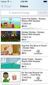 iPhone Kids Zone App