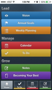 Life Organizer for iPhone