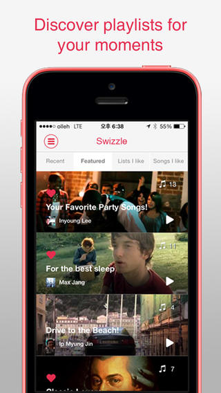 Swizzle for iPhone