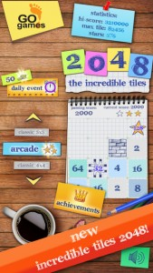 The Incredible Tiles 2048 for iPhone