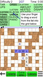 Word Fit Puzzle for iPhone