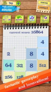 iPhone Incredible Tiles 2048
