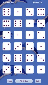 Flipping Dice for iPhone