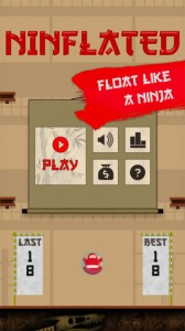 Ninflated iPhone Game App
