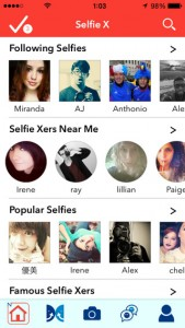 Selfie X for iPhone