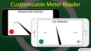 Fun-o-meter - Customizable Meter Reader for iPhone