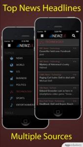 Newzle - Top Headline News for iPhone