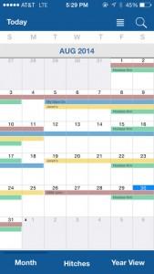 Oilfield Calendar for iPhone