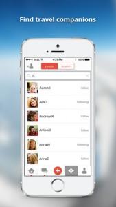 iPhone ShutterBee - Travel Companion App