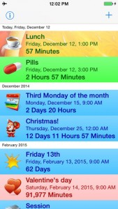 Reminder & Countdown free for iPhone