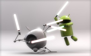 Apple vs Android Fight