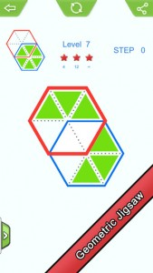 Geometry Jigsaw Puzzle Game