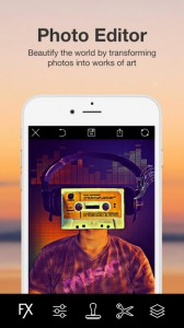 Photo Studio App for iPhone