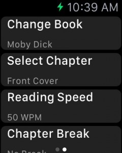 Book Reader for Apple Watch