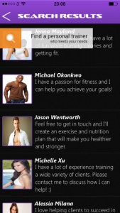 Personal Trainer and Workout App