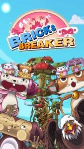 Classic Bricks Breaker Game