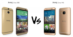 HTC One M9 & HTC One M8 Comparison
