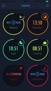 Timer app for Apple Watch