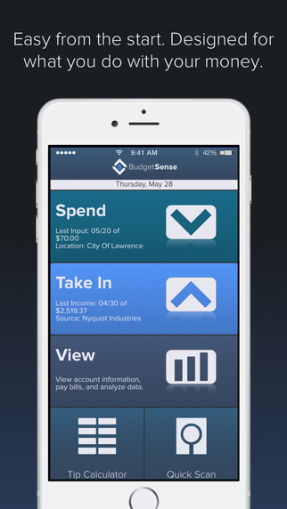 Budget Sense for iPhone