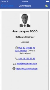 Business Card Scanner App