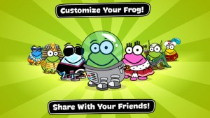 Free frog tapping app