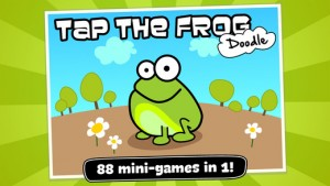 Tap the crazy frog