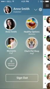 A free social app