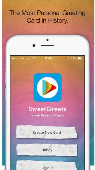 Sweet Greets - iPhone App