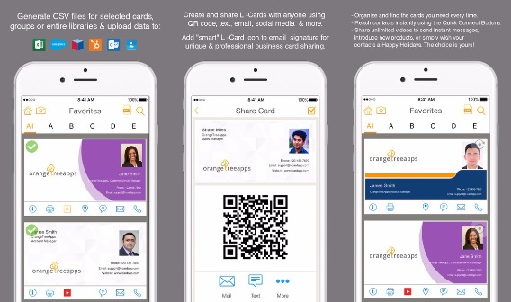 L card pro app review all you need to know about iphone apps l card pro makes networking much easier by taking paper out of the equation it creates electronic business cards instantly these include both yours and of reheart Images